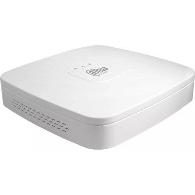 Dahua 4-channel NVR, FHD 2MP, 30fps, H.265/H.264, 1xSATA, 2xUSB, 1xVGA, 1xHDMI,1xAudio, support two-way talk, CMS/Web viewer, DC