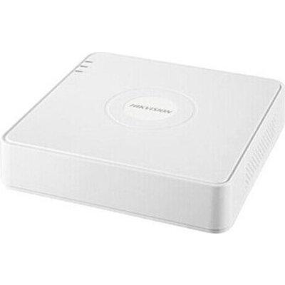 Hikvision 8-channel FHD Pentabrid Turbo HD DVR + 4 IP camera up to 6 MP, H265+, 1080P/25fps, 1xSATA up to 6TB, 2xUSB 2.0, 1xVGA,
