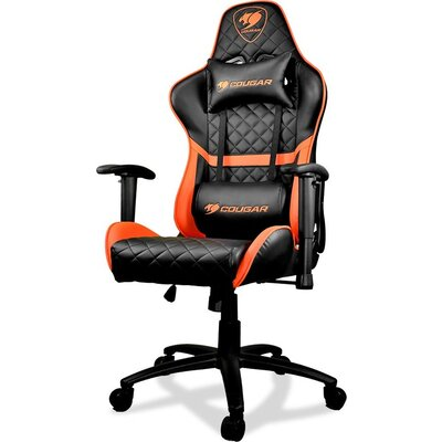 COUGAR Armor ONE Gaming Chair, Diamond Check Pattern Design, Breathable PVC Leather, Class 4 Gas Lift Cylinder, Full Steel Frame
