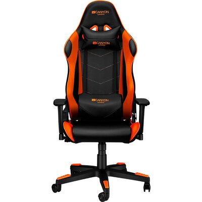 Gaming chair, PU leather, Original foam and Cold molded foam, Metal Frame, Butterfly mechanism, 90-165 dgree, 3D armrest, Class