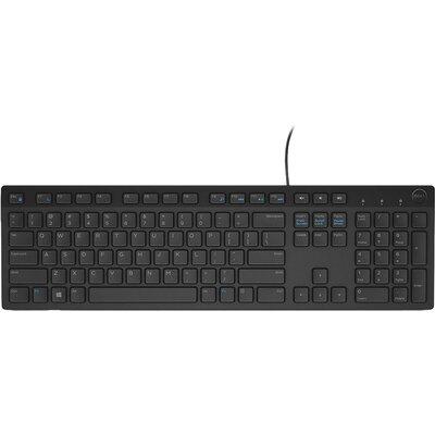 Keyboard Dell KB216 Multimedia, US International (QWERTY), Black