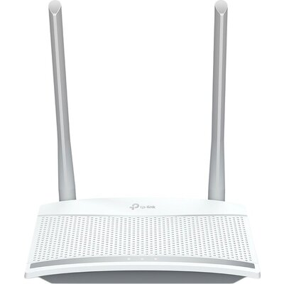 Router TP-Link TL-WR820N, 2,4GHz Wireless N 300Mbps, 2 x 10/100Mbps LAN Ports, 1 x 10/100Mbps WAN Port, Fixed Omni Directional A