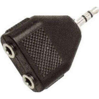 Adaptor 3.5mm-M/2X 3.5mm-F, Value 11.99.4440