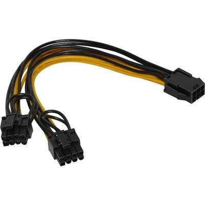 Cable adapter PSU VGA 6pin to 2x8pin