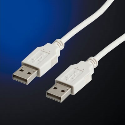 Cable USB2.0 A-A, 0.8m, Value 11.99.8909