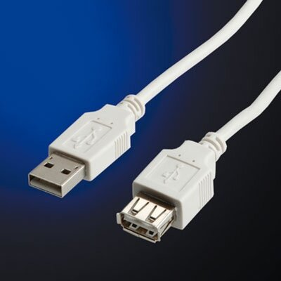 Cable USB2.0 A-A M/F, 3m, Value