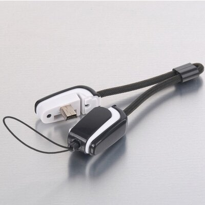 Cable USB2.0 type A-Mini 5pin, Smart w/micro-SD CR