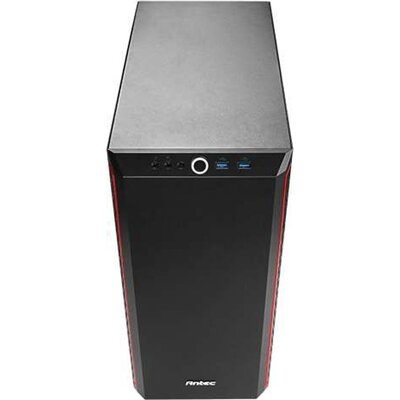 Case Antec ATX Performance P7 Window, Black/Red