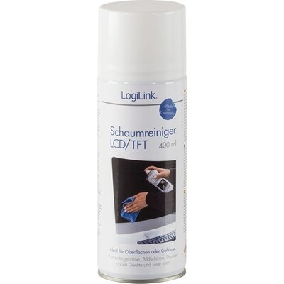Cleaner Foam 400ml, TFT/LCD, RP0012, LogiLink