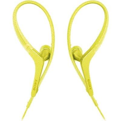 Earphones Sony MDR-AS410AP,Sport In-ear,Mic,Yellow