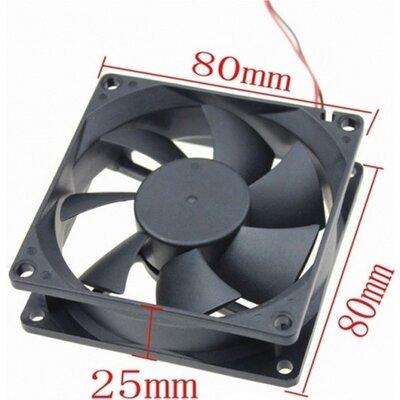 Globe Fan 8cm, 3pin, Silent