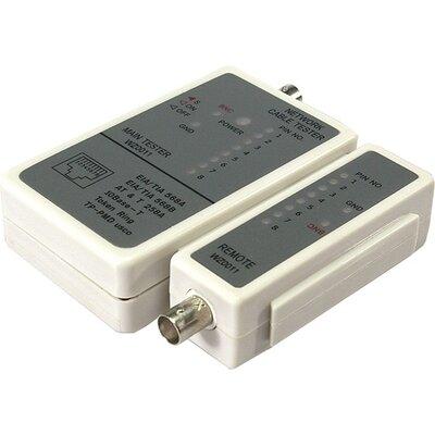 LAN cable tester BNC/UTP, WZ0011