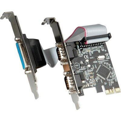 PCI-E Card, 2x Serial + 1x Parallel, 15.99.2116