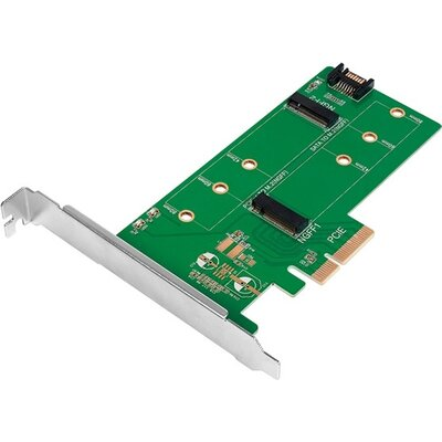 PCI-E Card, M.2 PCIe + M.2 SATA, Logilink PC0083