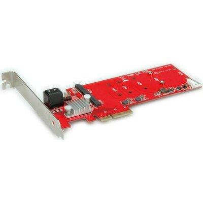 PCI-E Card, Raid, 2x M.2 SATA + 2x SATA,15.06.2119