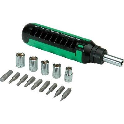 Screwdriver 15 in 1 Ratchet, Roline 19.06.1007