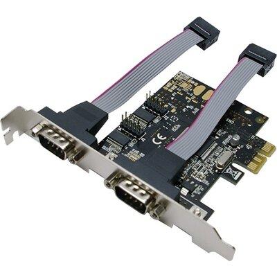 Serial card RS232, PCI-E, 2 x Com port, PC0031