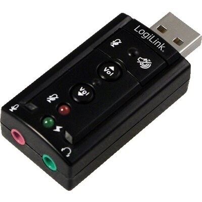 Звукова карта LogiLink UA0078 7.1CH, USB