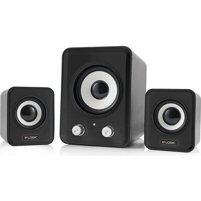 Speaker Logic LS-20 Black, 2.1 11W, USB Powered