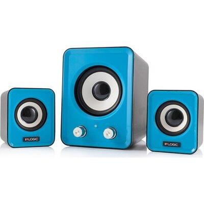Speaker Logic LS-20 Blue, 2.1 11W, USB Powered