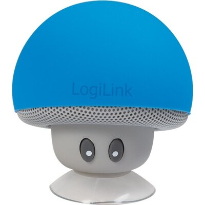 Speaker Logilink Bluetooth,Mushroom Blue,SP0054BL