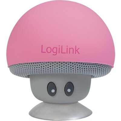 Speaker Logilink Bluetooth,Mushroom Pink,SP0054PK