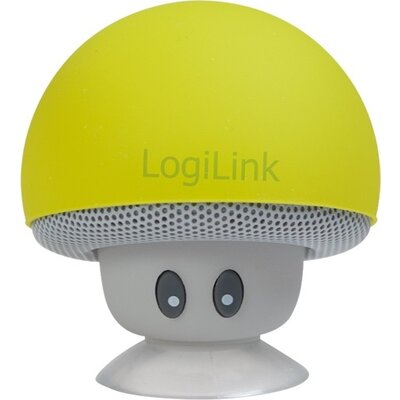 Speaker Logilink Bluetooth,Mushroom Yelow,SP0054YW