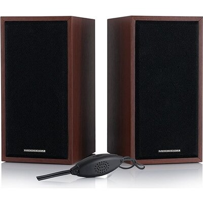 Speaker Modecom MC-SF05 MDF Brown, 5W USB Powered