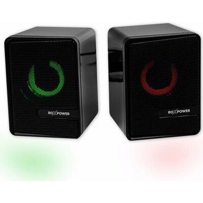 Speaker Roxpower YM-S3 RGB, 3W USB Powered