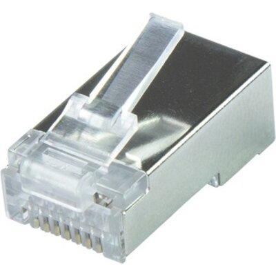 STP connector RJ-45, Cat. 6A, Logilink MP0070