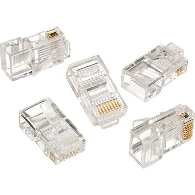 UTP connector RJ-45, Cat. 5E, Logilink MP0002