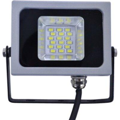 V-Tac LED Прожектор - 10W SMD Сив VT-4911 Студена