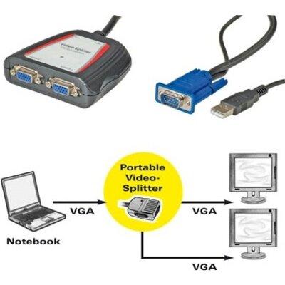 VGA Multiplier, 2X, 250MHz, Value 14.99.3523