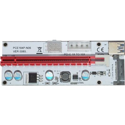 VGA Riser PCIe 1x to 16x