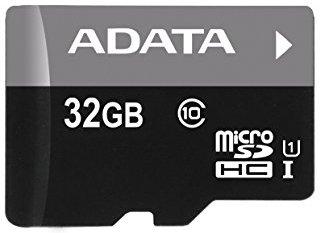 Micro SD карта ADATA Premier 32 GB + SD адаптер